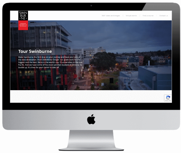 Swinburne University Virtual Tour