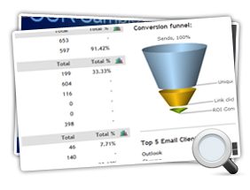 Email Marketing Report Mini Screenshot