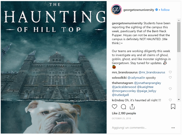 Georgetown Haunting of Hill Top
