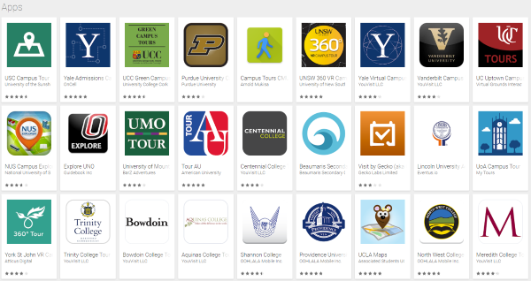 Campus Tours - Google Play