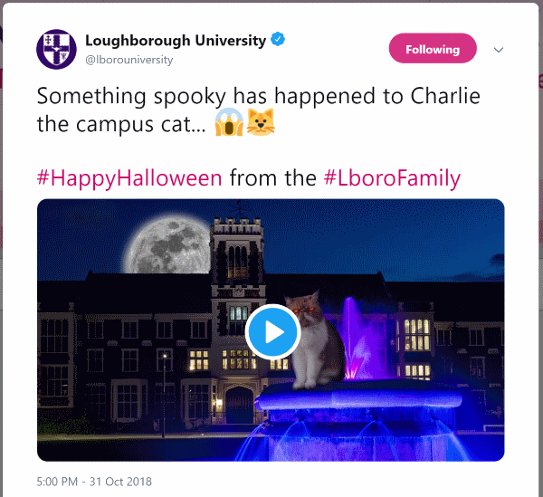 Halloween Loughborough University