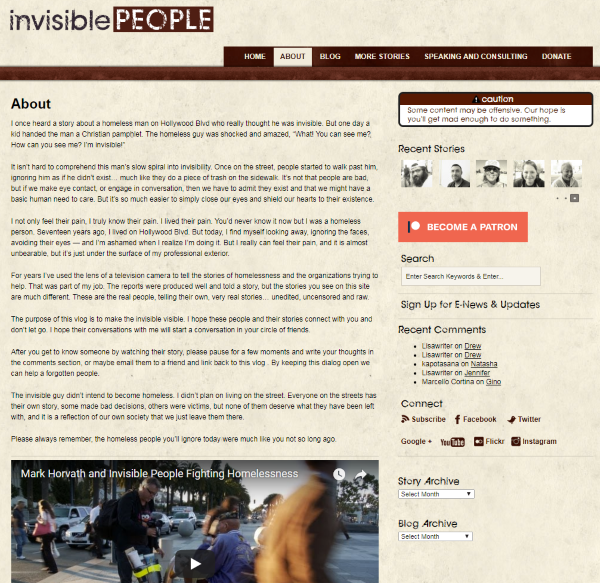 Invisible Stories Screenshot