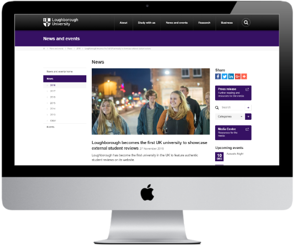 Loughborough University - News