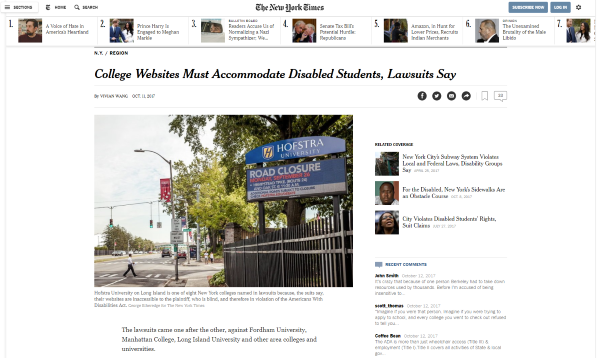 New York Times Lowres Screenshot