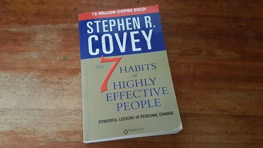 Image of Stephen R. Covey's book cover for 'The 7 Habits of Highly Effective People'