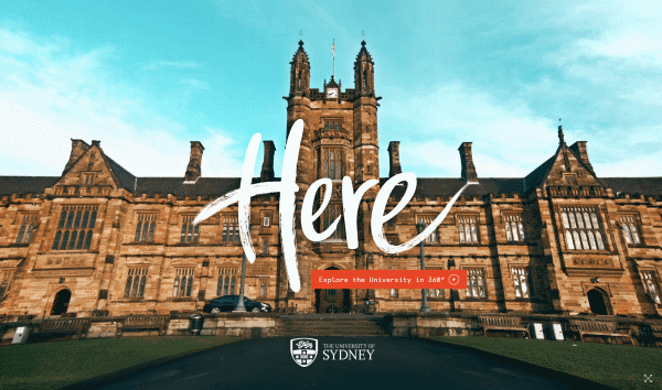 University of Sydney Virtual Tours