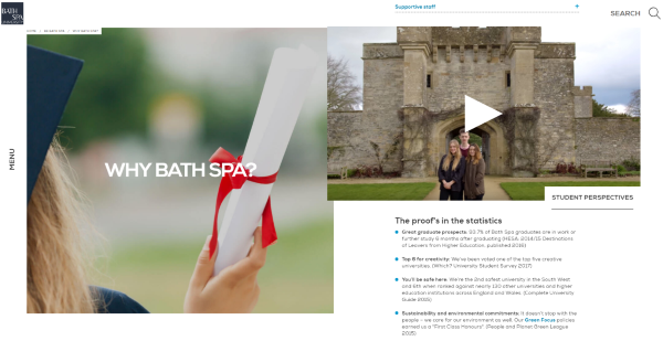 Why Bath Spa?