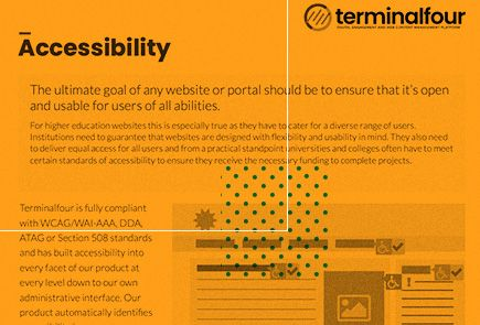 Find out why web accessibility is at the heart of our product Feature Image